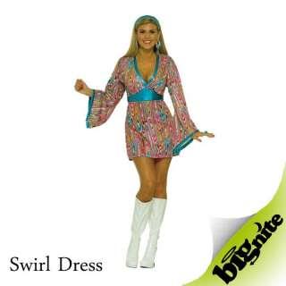 1960s hippy flower power dresses