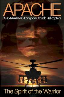 MILITARY POSTER ~ U.S. ARMY APACHE LONGBOW HELICOPTER