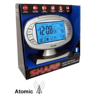 Sharp Atomic Weather Station Alarm Clock SPC315  Home