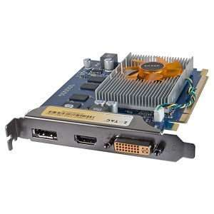 ZOTAC GeForce 9400GT DP 512MB DDR2 PCI Express (PCIe) DVI Video Card w