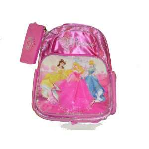 Disney Princess Belle Sleeping Beauty Cinderella Backpack
