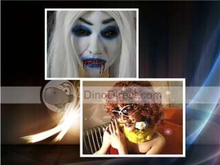 Wholesale Halloween Scary Demon Monster Latex Full Head Mask with Hair