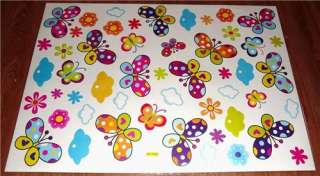 Girls/Childrens/Kids Bedroom BUTTERFLY Wall Stickers