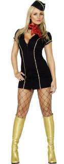 female ladies Fancy Dress Costume with Hat, S, M or L 8 18