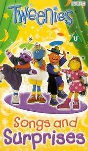 TWEENIES   SONGS AND SURPRISES  VHS VIDEO 5014503718725