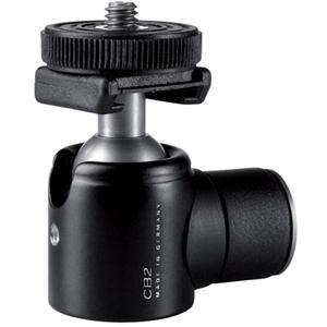 Cullmann CB 2.7 Mini Ball Head, Adapter with 1/4 inch Camera Screw and