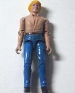 Dukes of Hazzard Bo Duke Vintage Action Figure 1981