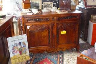 meuble ancien 2 corp louis XV chêne . ANTIQUITE TENDANCE