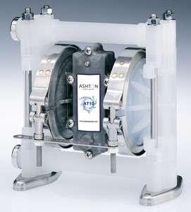 Ashton Air Diaphragm Pump (Polypropylene/PTFE) Chemical Acid Alkaline