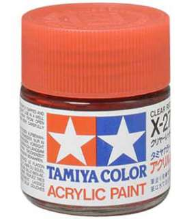 TAMIYA COLOR X 27 Clear Red MODEL KIT ACRYLIC PAINT