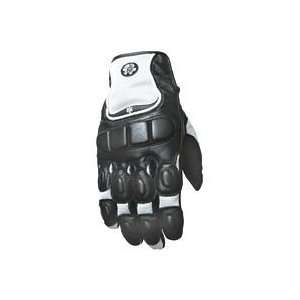 JOE ROCKET WOMENS CLEO GLOVE (SMALL) (BLACK/WHITE