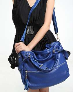 Genuine Leather Purse Shoulder Bag Handbag Tote Satchel