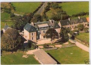 GOUVILLE SUR MER..le château des forges Manche 50
