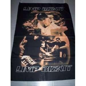 LIMP BIZKIT 5x3 Feet Cloth Textile Fabric Poster: Home