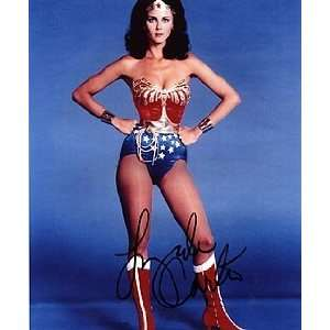 LYNDA CARTER 8x10 Photo Signed In Person