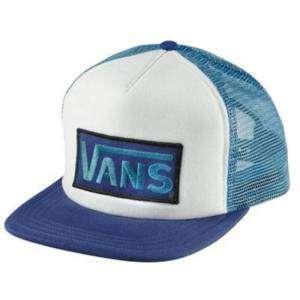 Gorra VANS Qualifier Ocean Depths Azul logo skate surf