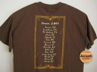 Stevie Nicks 2011 Concert Tour Shirt   Large
