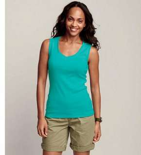 Eddie Bauer Women T Shirts & Knits Tank Tops Favorite Sleeveless V