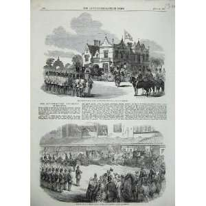 1857 Prince Albert Abney Hall Manchester Palace Art Home
