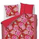 pip studio mumbai express red duvet set by fifty one percent