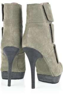 Michel Cazabat Renata suede ankle boots