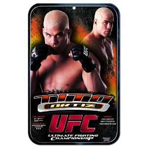 UFC Mixed Martial Arts Tito Ortiz 11 by 17 inch Sign