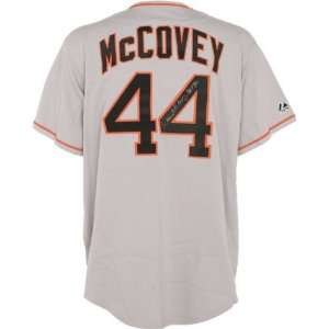 Willie McCovey Autographed Jersey  Details San Francisco Giants