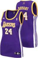 Purple adidas Revolution 30 Replica Los Angeles Lakers Womens Jersey