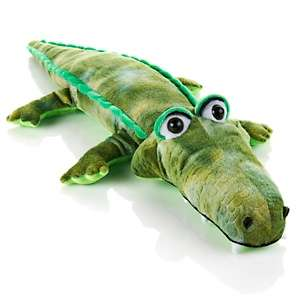 Snooki by Nicole Polizzi 28 inch Crocodilly Stuffed Animal at HSN
