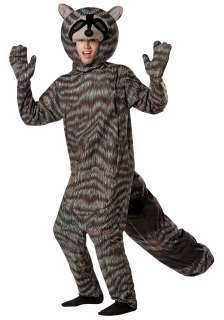 Costumes Animal & Bug Costumes Raccoon Costumes Adult Raccoon Costume