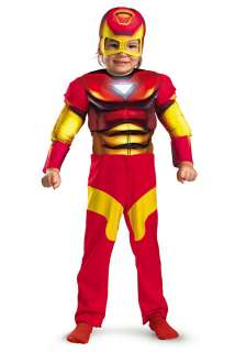 Superhero Costumes Iron Man Costumes 2T Muscle Chest Iron Man Costume