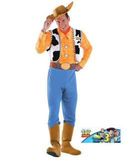 Mens Toy Story Deluxe Woody Costume