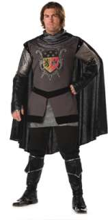 Adult Super Deluxe Dark Medieval Knight Costume   Medieval Costumes
