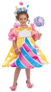 Girls Deluxe Candy Princess Costume   Princess Costumes