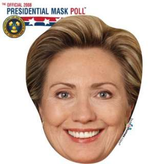 Hillary Clinton Paper Mask Ratings & Reviews   BuyCostumes