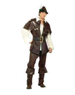 Mens Deluxe Robin Hood Costume  Wholesale Fairytale Halloween Costume