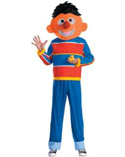 Adult Sesame Street Ernie Costume  Wholesale TV Halloween Costume for