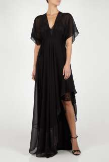 Black Comitma Maxi Dress by By Malene Birger