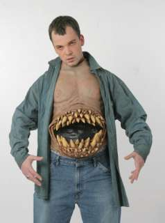 Adult Hunger Pains Chest Piece Costume   Scary Halloween Costumes