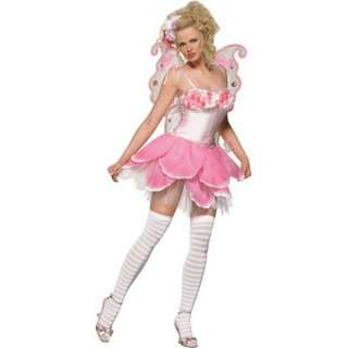 Adult Sexy Rose Petal Pixie Costume   Sexy Fairy Costumes   15UA83176