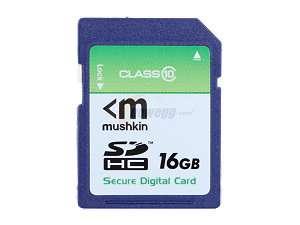 Mushkin Enhanced 16GB Secure Digital High Capacity (SDHC