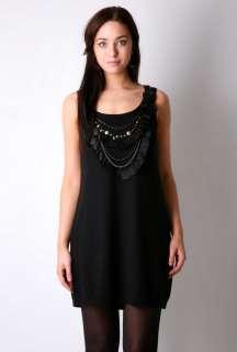 Vanity Sleeveless Embellished Dress by Nanette Lepore   Black   Buy