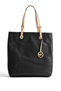 Michael Kors  Black Jet Set Leather Tote by MICHAEL Michael Kors