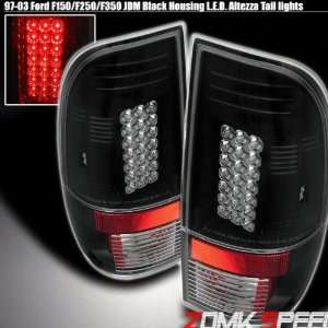 Ford F350 Led Tail Lights Black Altezza LED Taillights 1997 1998 1999