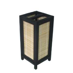 ASIAN ORIENTAL BAMBOO TABLE LAMP #L009