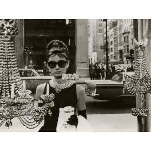 Audrey Hepburn, Breakfast at Tiffanys (Window) poster
