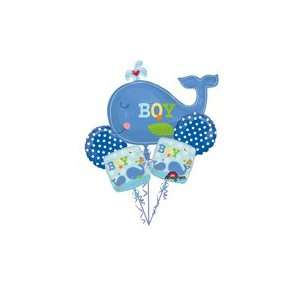 Ahoy Baby Boy Baby Shower Balloon Bouquet Toys & Games