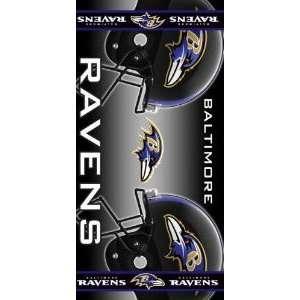 Baltimore Ravens Beach Towel 30 X 60 High Quality Great