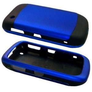Blue/Black Two Tone Soft Touch Hard Case / Cover / Shell
