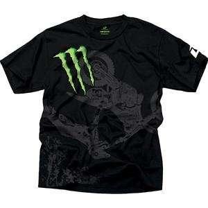 One Industries Monster Compound T Shirt   Large/Black Automotive